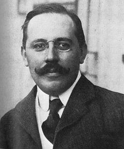 Josef Hoffmann, snímek z roku 1902.