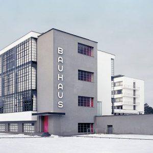 historie Bauhaus