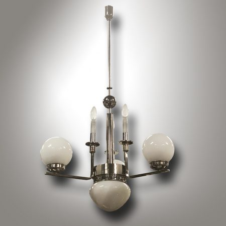 Art-Deco chandelier / Bohemia